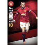 Manchester United Rooney Poster