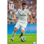Real Madrid James Poster
