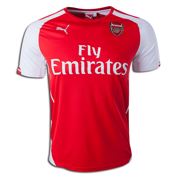 PUMA Arsenal Home Jersey 14/15