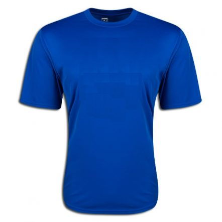 Moisture Wicking Poly T-shirt Royal