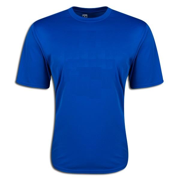 Moisture Wicking Poly T-shirt Royal