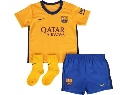 Nike FC Barcelona Away Mini Kit 15/16