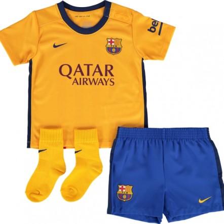 Nike FC Barcelona Away Mini Kit 15/16