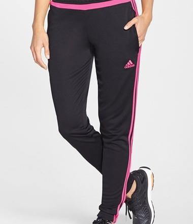 Adidas Women's Tiro 15 Training Pant (Grey/Red)