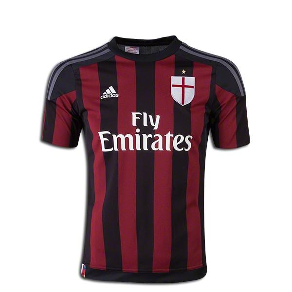 adidas AC Milan Youth Home Jersey 15/16