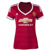 adidas Manchester United Women's Home Jersey 15/16