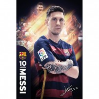 Barcelona Messi Poster 15/16