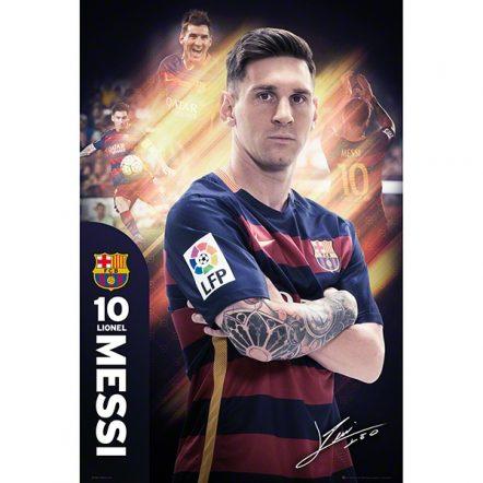 Barcelona Messi Poster 15/16