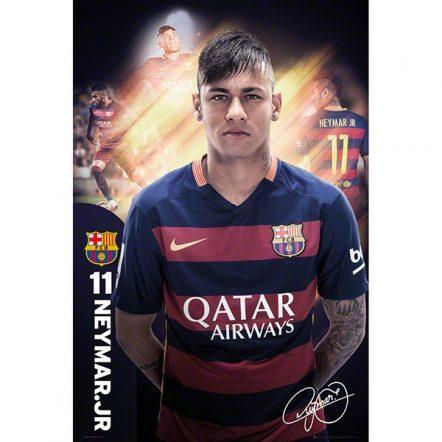 Barcelona Neymar Poster 15/16