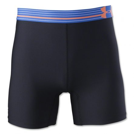 Under Armour HeatGear Alpha 5 Mid Short (Black/Royal)