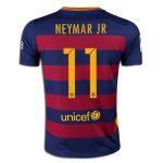Nike Neymar Barcelona Youth Home Jersey 15/16