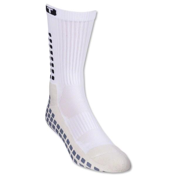 TRUSOX Crew Length Sock-Cushion (White)
