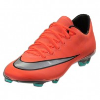 Nike Mercurial Vapor X Junior FG (Bright Mango)