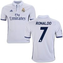 Adidas Ronaldo Real Madrid Youth Home Jersey 16/17