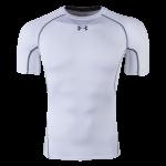 Under Armour Heatgear Compression T-Shirt (White)