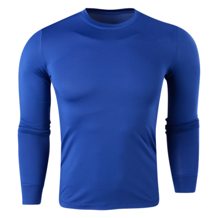Team Compression Long Sleeve Base Layer (Royal)