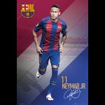 FC Barcelona Neymar Poster 16/17