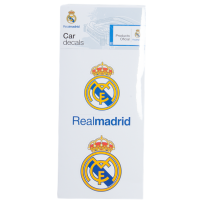 Real Madrid Car Decal