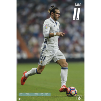 Real Madrid Bale Poster 16/17