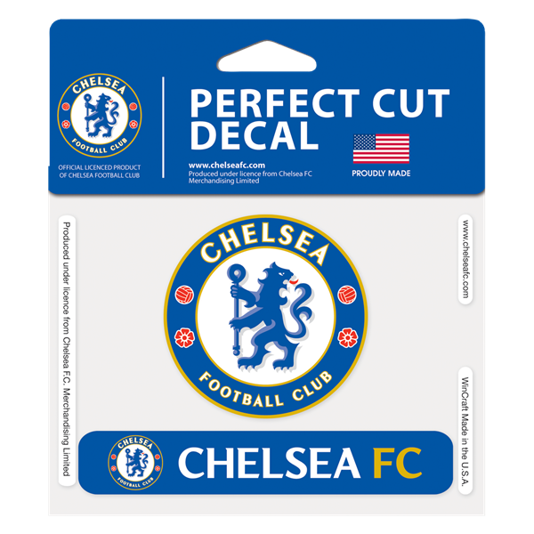 "Chelsea 4"" x 5"" Car Decal"
