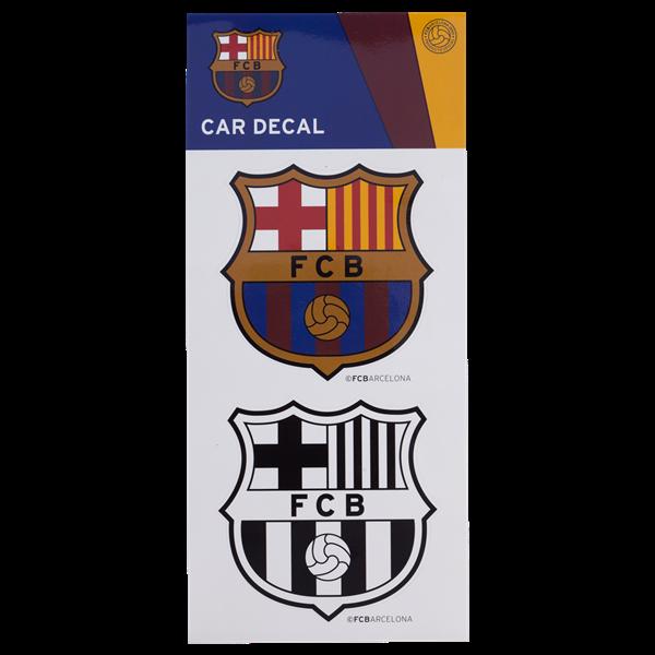 "Barcelona 3"" Car Decal"
