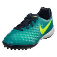 Nike Junior Magista Opus II TF - RIO TEAL/VOLT-OBSIDIAN-CLEAR JADE-HYPER TURQUOISE