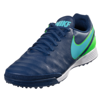 Nike Tiempo Genio II Leather TF - Coastal Blue/Polarized Blue/Rage Green
