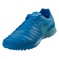 Nike Tiempo Genio II Leather TF - Blue Glow/Polarized Blue/Soar