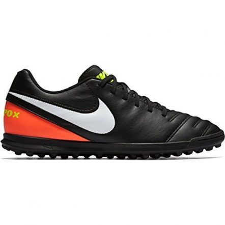 Nike Junior Tiempo Rio III TF (Black/Orange)