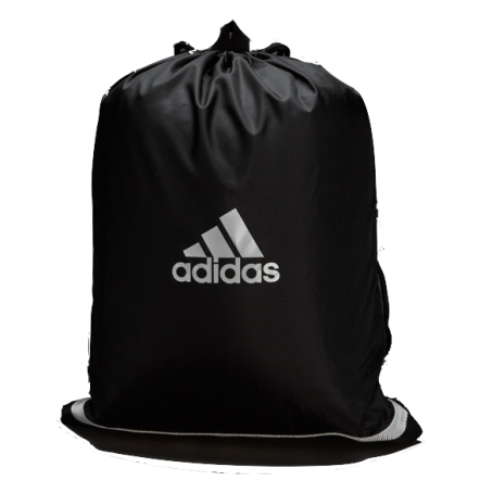 Adidas Drawstring Bag (Black/White)