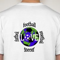 """I Love Football"" Cayman Islands Jersey"