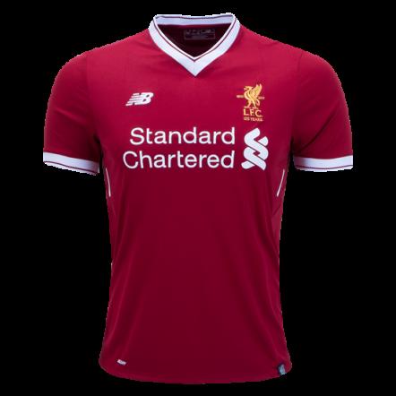New Balance Liverpool Home Jersey 17/18