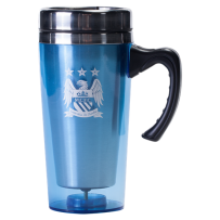 Manchester City Travel Mug w/ Handle