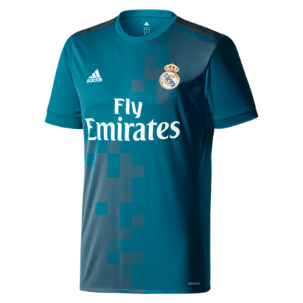 adidas Real Madrid Third Jersey 17/18