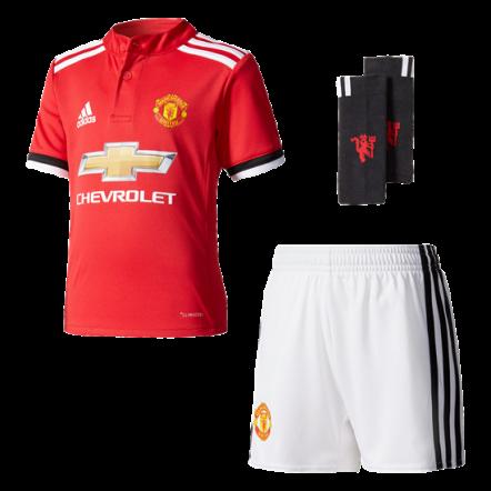adidas Manchester United Home Mini Kit 17/18