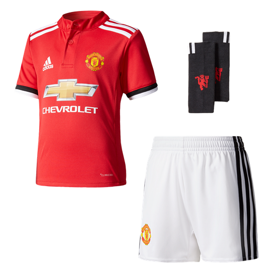 adidas Manchester United Home Mini Kit 17/18