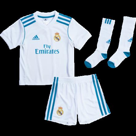 Adidas Real Madrid Mini Home Kit 17/18