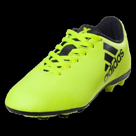 Adidas X 17.4 Junior FG - Fluorescent Yellow