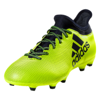 adidas X 17.3 FG Soccer Cleat - Solar Yellow/Legend Ink/Legend Ink
