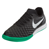 Nike MagistaX Finale II IC - Black/White/Dark Grey/Metallic Silve