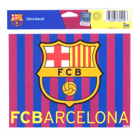 Barcelona Striped 5 x 6 Decal