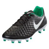 Nike Magista Onda II FG - Black/White/Dark Grey/Metallic Silver