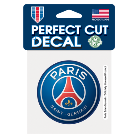 Paris Saint-Germain 4x4 Decal