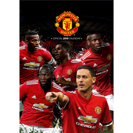 Manchester United 2018 Calendar