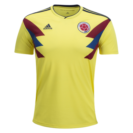Adidas Colombia Home Jersey 2018