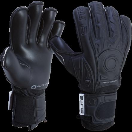 Elite Black Solo Goalkeeper Gloves 2017