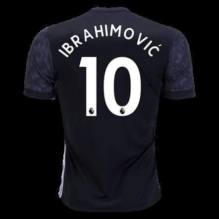 Adidas Zlatan Ibrahimovic Manchester United Away Jersey 17/18