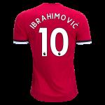 Adidas Zlatan Ibrahimovic Manchester United Home Jersey 17/18