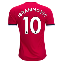 Adidas Zlatan Ibrahimovic Manchester United Home Jersey 17/18