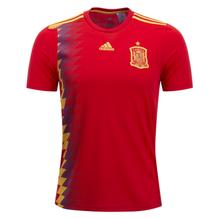 Adidas Spain Home Jersey 2018 (Front)